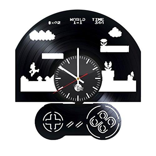 Super Mario Brothers Vinyl Record Wall Clock - Get unique ho
