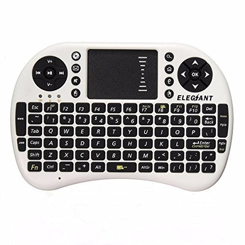 379 opinioni per Mini Wireless Tastiera,ELEGIANT 2.4 GHz Tastiera Senza Fili Touchpad del Mouse