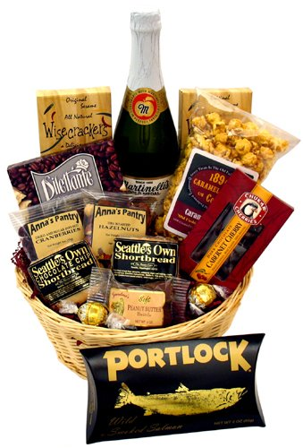Seattle Delights Gift Basket (Wine Gift Baskets Seattle)