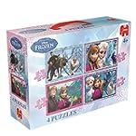 """Disney Frozen 4-in-1 Jigsaw Puzzle """"N..."""