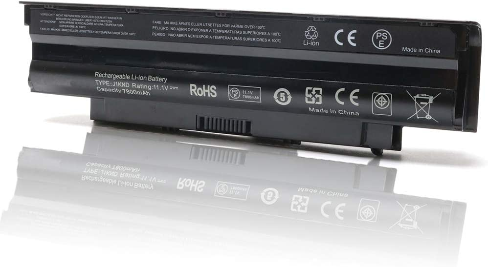 New Laptop Battery for Dell Inspiron 3420 3520 13r 14r 15r 17r N3010 N3110 N4010 N4050 N4110 N5110 N5010 N5030 N5040 N5050 M5110 M5010 M4110 M501,P/N J1knd 4t7jn (9 Cell)