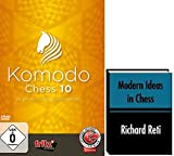 Komodo 10 Chess Playing Software Program - World Champion & ChessCentral's Modern Ideas in Chess E-book (2 item Bundle)