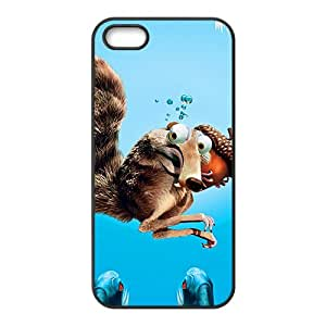Ice Age Black Phone Case for iPhone 5S