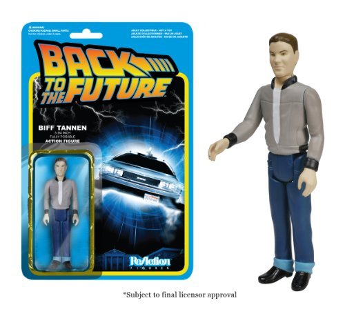REACTION BACK TO THE FUTURE BIFF TANNEN 3 3/4 INCH RETRO ACTION FIGURE FUNKO by Unknown