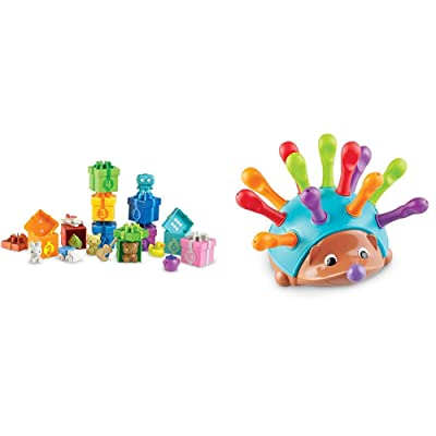 Learning Resources Counting Surprise Party, Fine Motor, Counting & Sorting Toy, Ages 3+ & Spike The Fine Motor Hedgehog, Sensory, Fine Motor Toy, Ages 2+: Toys & Games
