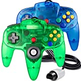 2 Pack Classic N64 Controller, suily Retro N64