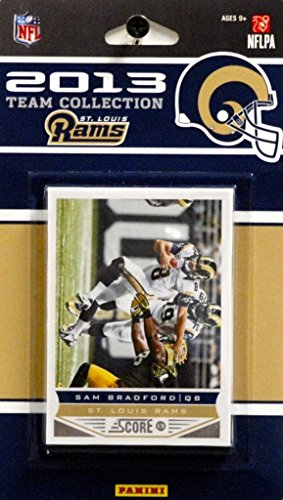 St Louis Rams Memorabilia (St Louis Rams 2013 Score Factory Sealed 10 Card Team Set)