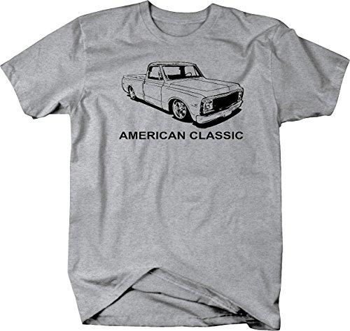 American Classic Chevy C10 Fleetside 1967-72 Pickup Truck Tshirt - Medium - Chevy Truck T-shirt