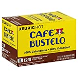 Cafe Bustelo 100% Colombian K-Cup Pods for Keurig K-Cup Brewers, Medium Roast Coffee, 12 Count (Pack of 6)