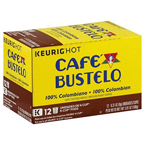 Cafe Bustelo 100% Colombian Medium Roast Coffee, 72 K Cups for Keurig Makers (Cafe Bustelo Keurig)