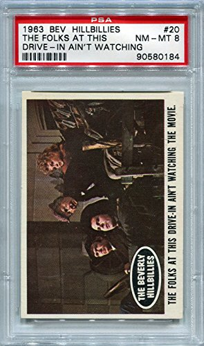 1963 Beverly Hillbillies - The Folks At This Drive-In Ain't Watching #20 PSA 8 NM-MT (Graded Non-Sports - In Drive Beverly