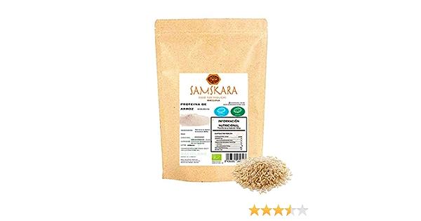 Proteina de Arroz (80%) en Polvo   Ecológico Bio   de ...