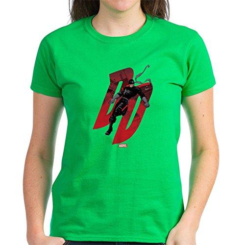 Daredevil Costume For Women (CafePress Daredevil Black Costume - Womens Cotton T-Shirt)