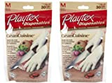 Health & Personal Care : Playtex Disposable Food Prep Gloves - 30 ct - 2 pk