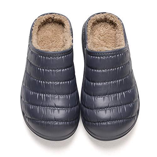 da F in cotone imbottiture cotone YMFIE donna Pantofole e con per invernali casa uomo da in qxZTY