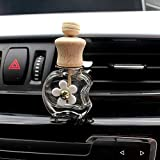 SaveStore Perfume Diffuser Empty Bottle Automobile air Conditioner Perfume Clip Car Decor Ornaments Styling
