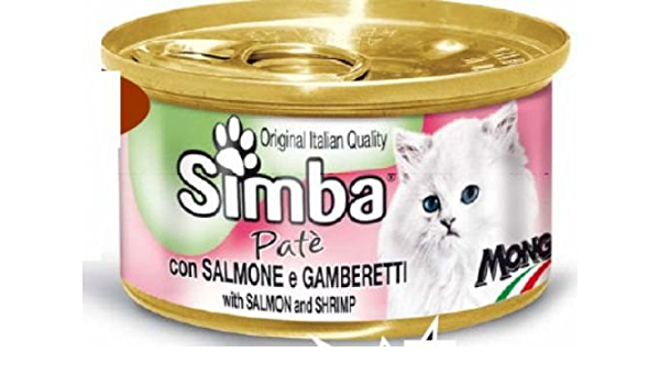 Simba Cat paté 85 g Lata con Ternero + Riñón: Amazon.es ...