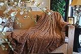 Best Tache Home Fashion Elegant Home Fashions Home Fashion Fauxes - Tache Chocolate Brown Super Soft Warm Faux Fur Review