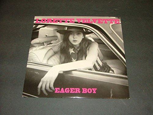 Lorette Velvette 3 Single 45 RPM Eager Boy,Goin' Down South, Frog Peach ()