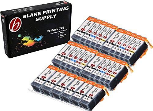 26 Pack Blake Printing Supply CLI-226 226 PGI-225 225 Ink Cartridges for Canon PIXMA iP4820 iP4920 iX6520 MG5120 MG5220 MG5320 MX712 MX882 MX892 (Printing Supplies)