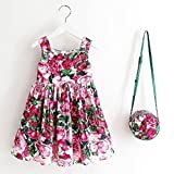 Suzzo Costume Series Girls Dress Toddler Dress with Bag Robe Enfant Christmas Dress Princess