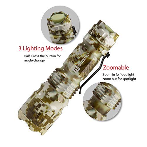 百思买 J5 Tactical V1-Pro Flashlight The