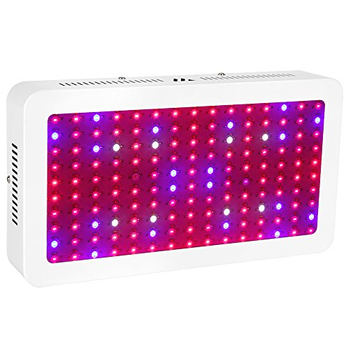 LED Grow Light 1500W Morsen Full Spectrum Growing Lamp Double-Chips 10W LED Indoor Plant Lamp For Greenhouse Hydroponic Vegetables Growth