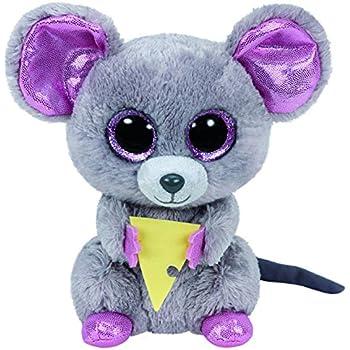 Amazon.com  Ty Beanie Boos Flora Black White Skunk Plush  Toys   Games 8f7ee8a7753a