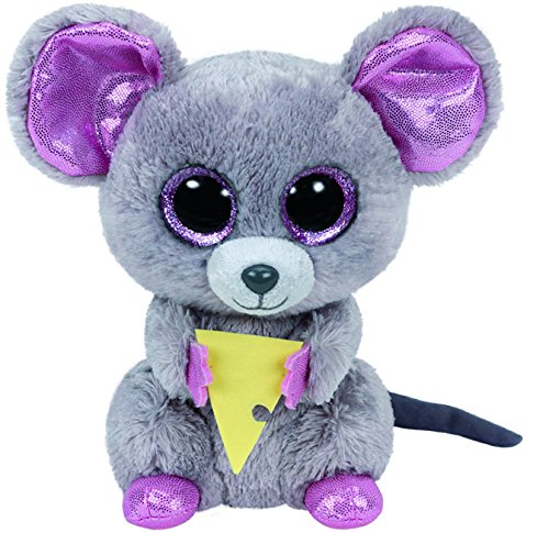 Ty Beanie Boos Plush - Squeaker the Mouse 6-Inch