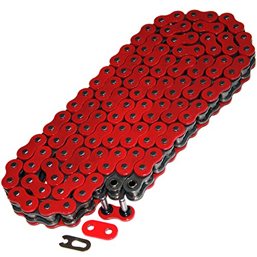 Caltric O-RING DRIVE CHAIN Fits YAMAHA RAPTOR 660 YFM660R YFM-660R 2001-2005 RED (2003 660 Chain And Raptor)