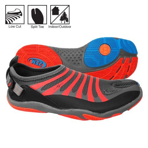 Orange ZEMGEAR Ex Ninja U Footwear Shoes Mens Grey pqgF7Of