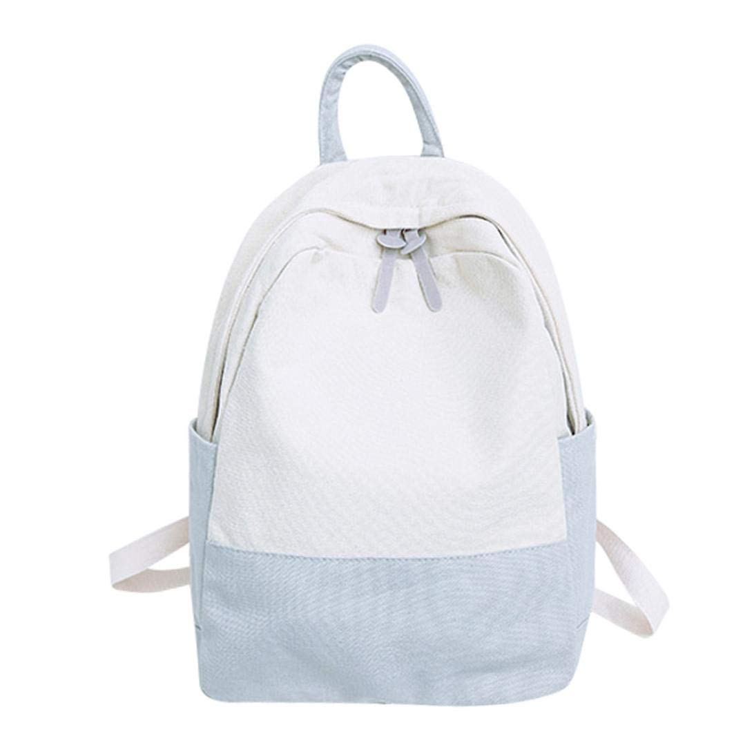 Prime Amazon Com School Bag For Students Iopqo Women Canvas Beatyapartments Chair Design Images Beatyapartmentscom