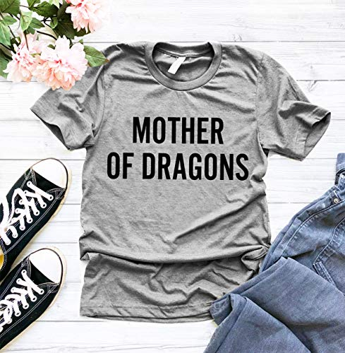 Game Of Thrones Halloween Tumblr (Mother Of Dragons T Shirt, Cute Halloween Shirt, Funny Halloween T Shirt, MOD T-Shirt, Dragons T Shirt, Mothers Day Shirt, Inspired by Game of thrones, Mom)