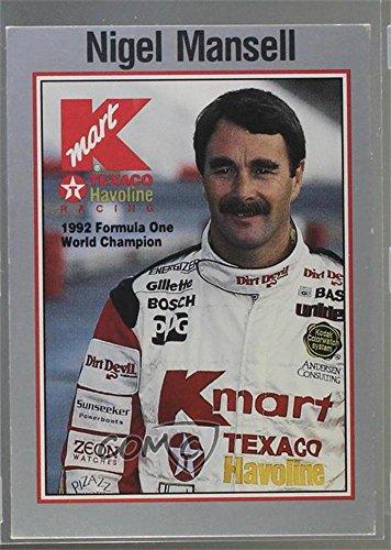 (Nigel Mansell (Trading Card) 1993 K-Mart Racing - [Base] #5)