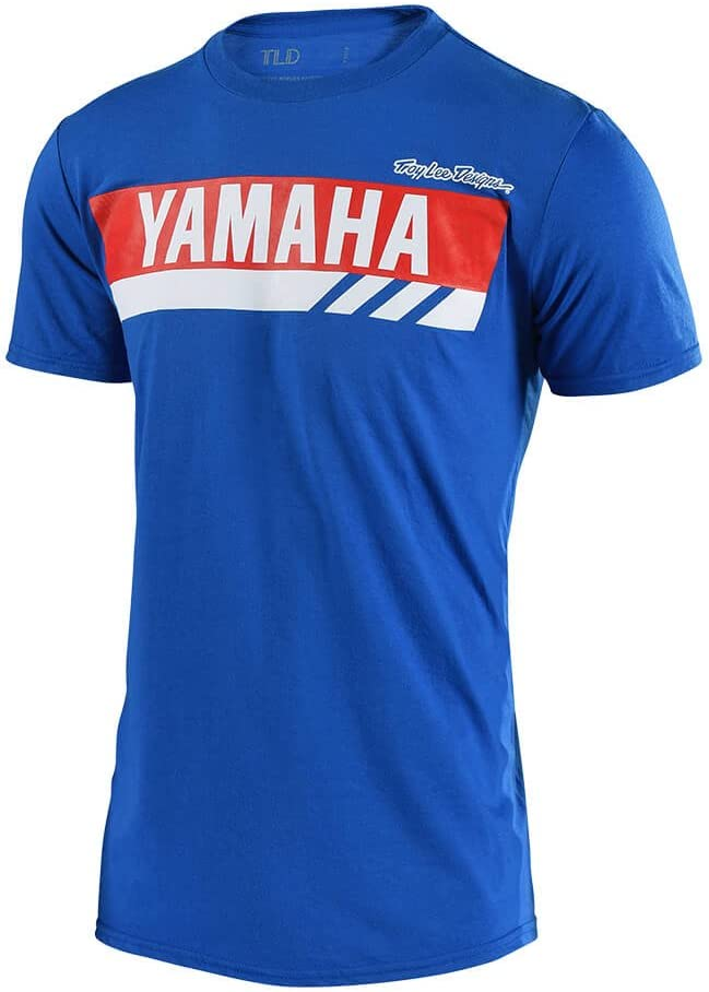 Troy Lee Designs 2018 Yamaha RS1 T-Shirt-Black-XL