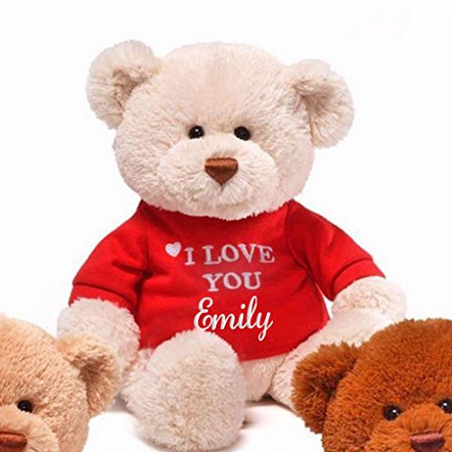 Personalized Love You Teddy Bear product image