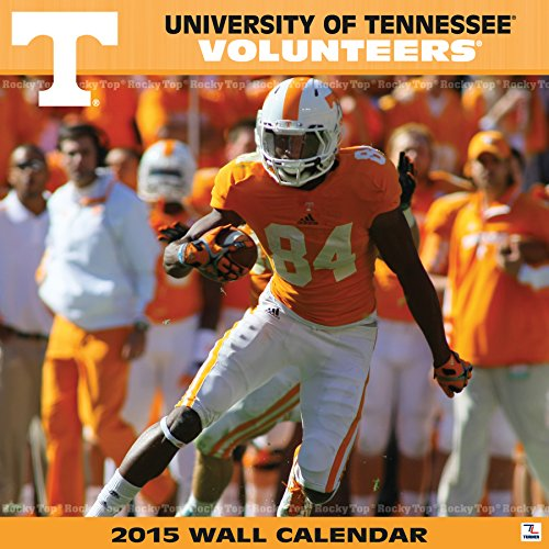 Turner Perfect Timing 2015 Tennessee Volunteers Team Wall Calendar, 12 x 12 Inches (8011606)