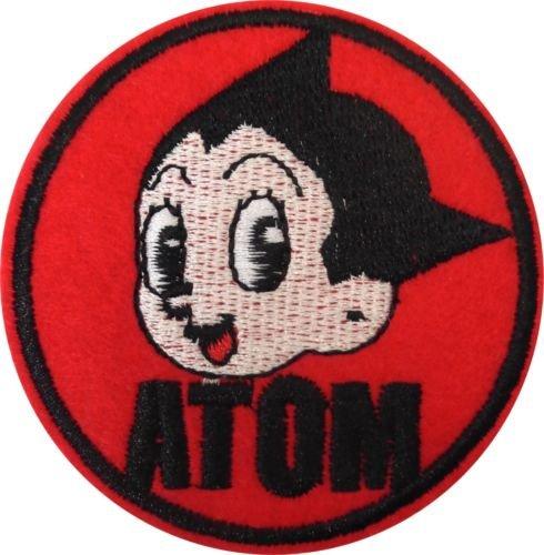 Super patch)16234 Atom Astro Boy Manga Comic Book Cartoon Embroidered Sew Iron On Patch NEWby (Astro Boy Atom)