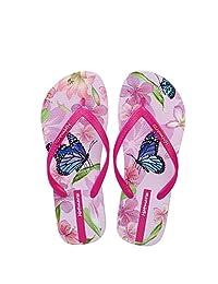 Hotmarzz Women's Butterfly Floral Flip Flop Summer Sandals Beach Slippers