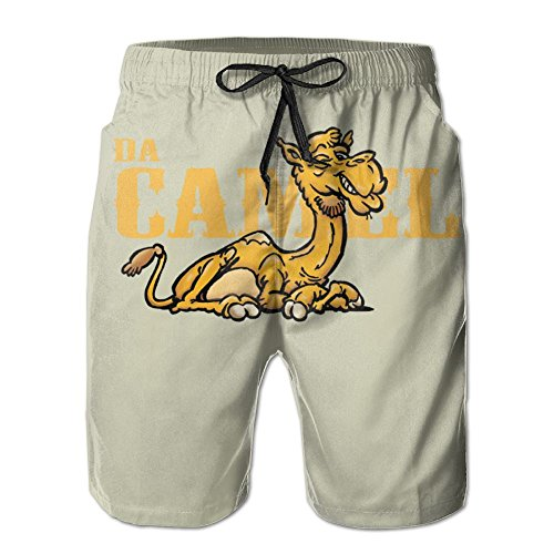 Camel Performance Beach Pants Man Swimming Short Cool SweatpantsComfortable (Riding Camel Costume)