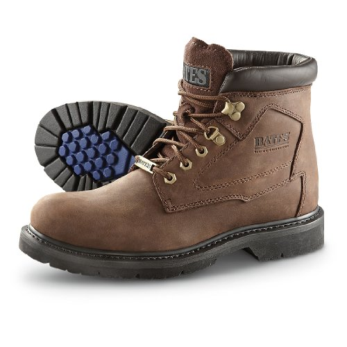 Bates Mens Boot In Moto Da Pista In Rame Marrone