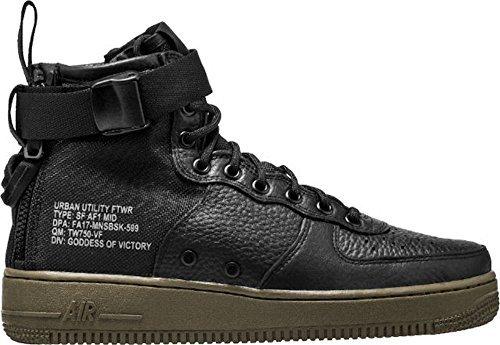 Nike Sf Af1 Mid, Zapatillas de Gimnasia para Hombre black, black-dark hazel