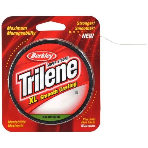(Berkley Trilene XL Smooth Casting Monofilament Service Spools (Berkley Trilene XL), 8 LB - Green)