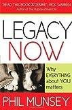 Legacy Now, Phil Munsey, 1599792591