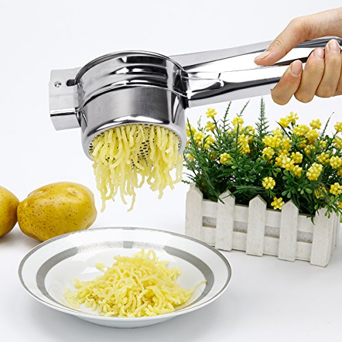 BeautyKitchen Stainless Steel Potato Ricer with 3 Interchangeable Disks by BeautyKitchen (Image #4)'