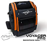 MVP Disc Sports Voyager Pro Backpack Disc Golf Bag - Orange