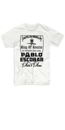 Rancid Nation Pablo Escobar Medellin Cartel Kingin T-Shirt ...