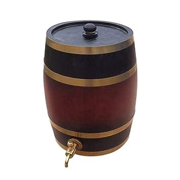 20L Oak Barrel Wine Barrel Liquor Almacenamiento Wine Bladder Christmas Bar Hotel sets Barril de madera