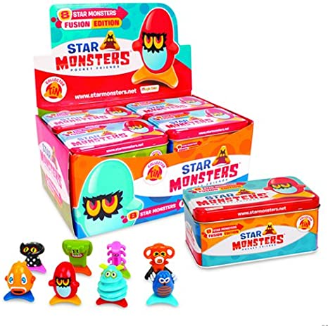 Magic Box Star Monsters, Lata con 8 Figuras P00773: Amazon.es: Juguetes y juegos
