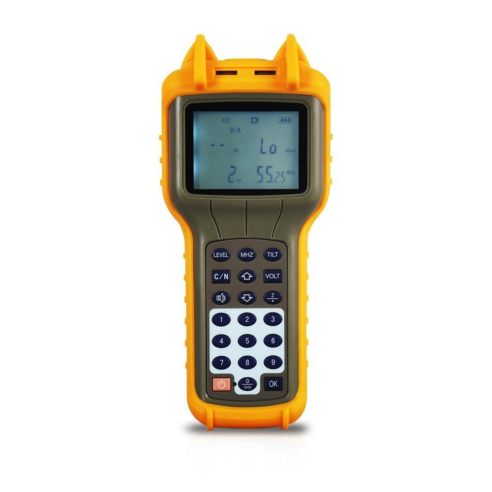 RY S110 CATV Cable TV Handle Digital Signal Level Meter DB Best Tester 47MHz ~ 870MHz by RY